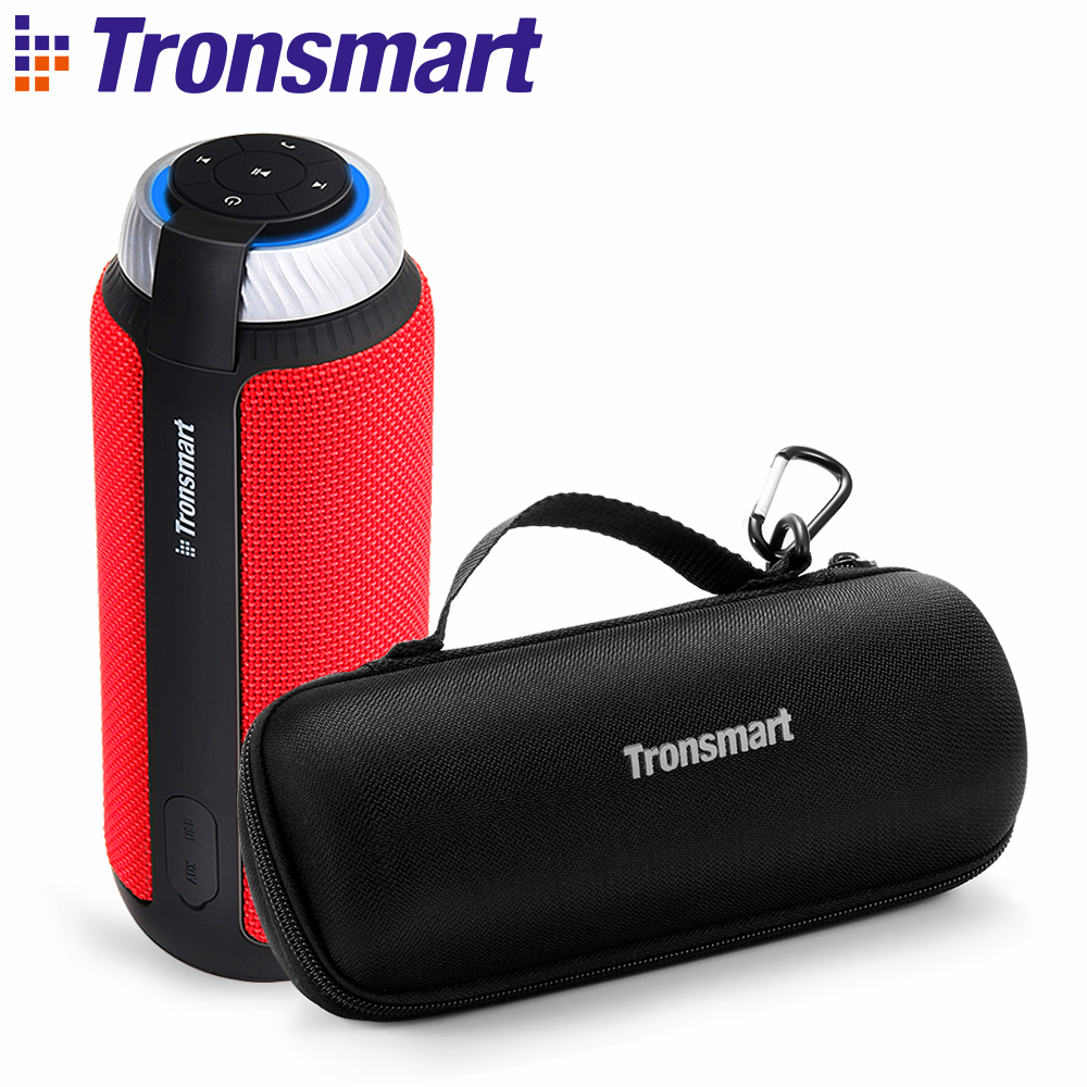 Original Tronsmart Element T6 haut-parleur Bluetooth 4.1 haut-parleur Portable sans fil récepteur Audio haut-parleurs USB AUX avec étui de transport