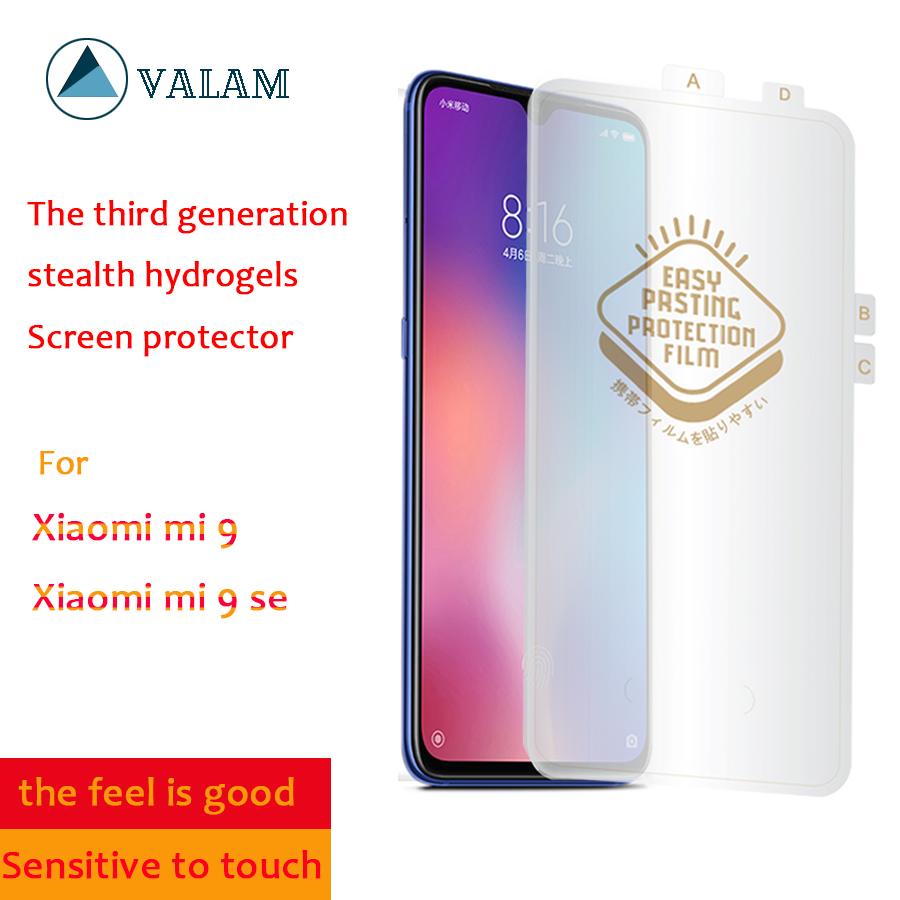 VALAM 3D Curved Soft Hydrogel Screen Protector For Xiaomi Mi9 SE Full Cover Back Film xiaomi9 pro Nano