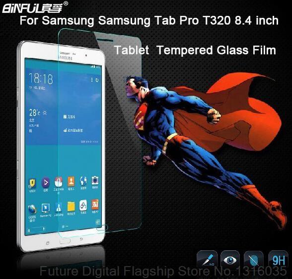 Aukštos kokybės grūdinto stiklo apsauginis ekranas, apsaugantis nuo Samsung Galaxy Tab Pro 8.4 T320 T321 T325 ekrano apsauginė plėvelė