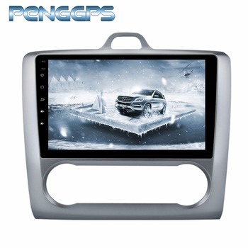 Octa Core CD DVD Player 2 Din Stereo Android 8.0 Car Radio for Ford Focus 2004-2011 GPS Navigation Autoradio Headunit WIFI FM image