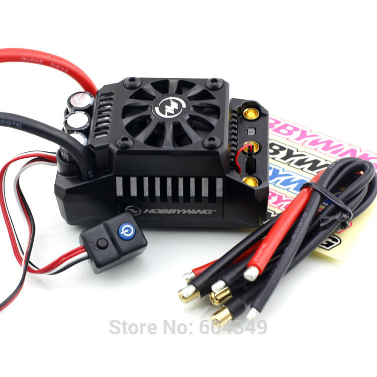 Freeshipping Hobbywing EZRUN 200A 8s Waterproof Brushless ESC 1/5 RC Car On Road #EZRUN MAX5-V3Freeshipping
