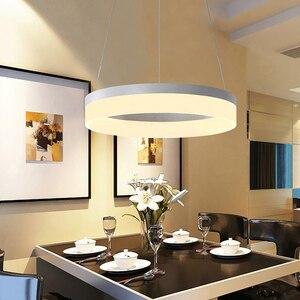Image 3 - Современные светодиодные подвесные светильники для столовой lamparas colgantes pendientes, подвесная декоративная лампа, подвесное освещение