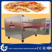 LPG Gas hot air cycle crawler type Pizza oven