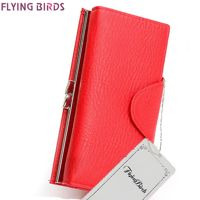 2017 Women high quality wallet PU leather  4Colors