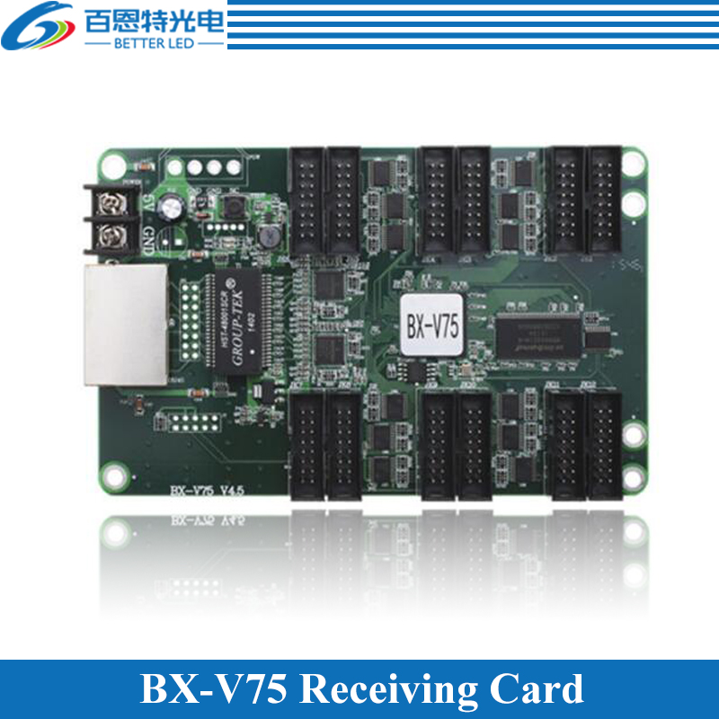 BX-V75 Onbon Receiving Card Full Color LED Display Control Card