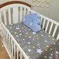 Hoja de Cubierta de Cama Cuna Cama de Bebé de Algodón caliente 130*70 cm Sábana de Cuna Juego de Cama de Bebé Del Niño de la Historieta niños Ropa de Cama
