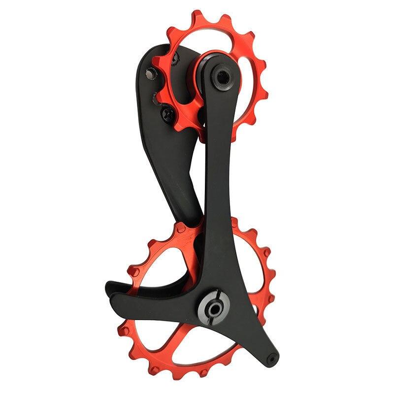 En Fiber De carbone De Bicyclette De Vélo Arrière Dérailleur Cage Poulie Pour SHIMANO ForXTR/XT/SLX M9000/M8000/M7000GS /M6000GS VTT Vélo Pièces