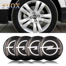 4pcs Car Styling Wheel Center Hub Cap Stickers 56.5mm emblems for Opel astra opel astra h astra g insignia Opel mokka car