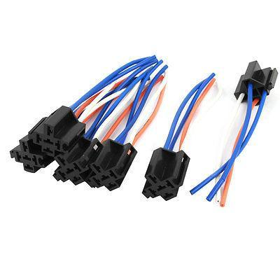 Auto Car Alarm Relay Harness Wire Cable 4 Pin Wire Socket
