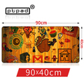 pbpad store 900*400mm Laptop Gaming Mouse Pad Locking Edge Non-slip creative mousemats computer keyboard mousepad for office