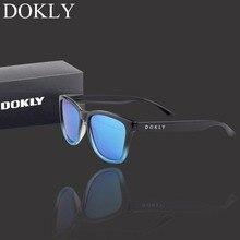 Dokly Real Polaroized Sunglasses Men and women polarized sunglasses Square Sun Glasses eyewear Oculos De Sol