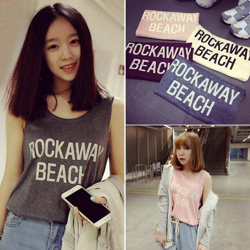 The new spring 2016 Korean font b women s b font letters pure font b sweater
