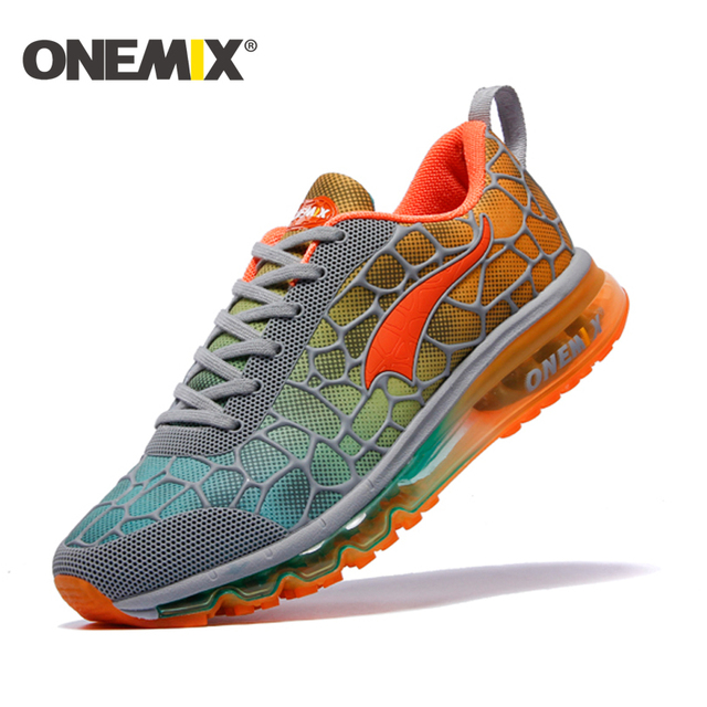 1985d19bb1 ONEMIX 2016 running shoes for man cushion sneaker original zapatillas  deportivas hombre male athletic outdoor sport shoes men