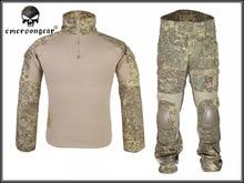 Emerson Gen2 Tactical Suit Combat Set Shirt font b Pants b font With Elbow knee Pads
