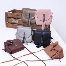 Fashion Women Shoulder Bags Simple Tassel Design Shoulder bags New Clutch Bag Solid Color Ladies shoulder Bags With Tassel все цены