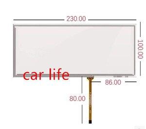 Peça de vidro de 8.8 polegada 4 1 pin 230*100mm painel de toque Lente Digitador Da tela de Toque para X1 X3 x5 X6 X7 carro