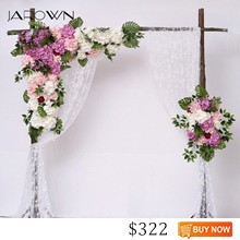JAROWN-Simulation-Hydrangea-Rose-Flower-Row-Outdoor-Wedding-Party-Arch-Decoration-Design-Floral-Set-Hotel-Background