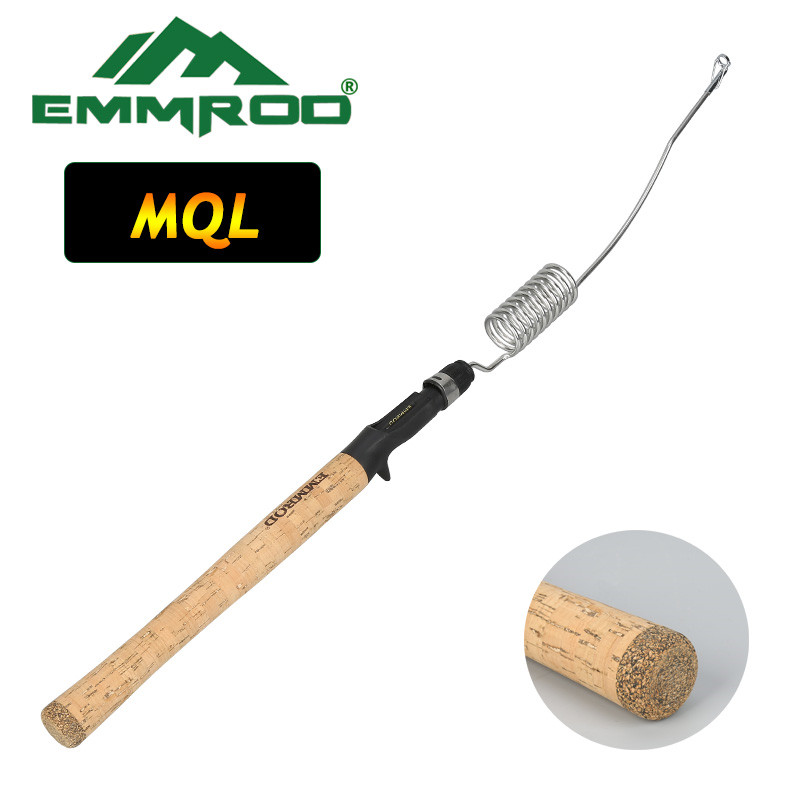 NEW Emmrod Fishing Casting Pole Lengthened Bait Casting rod Ice Fishing Rod Boat/Raft Rod Lure Rod Portable Casting Fishing Pole fulang emmrod elasticity fishing rod boat raft rod lure cork wood stock patented product with fishing bag 53 5cm mq 4c page 6