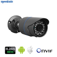 H.265 Outdoor IP Camera 5MP 3MP 2MP Optional Motion Detection Mobile Monitoring Email Alert ONVIF CCTV Camera Security