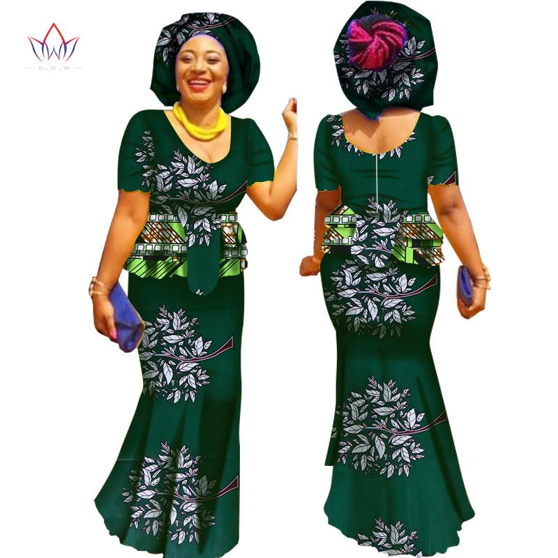 2019 Sommer arbeidsskjørt sett afrikanske kjoler for kvinner - Kvinneklær