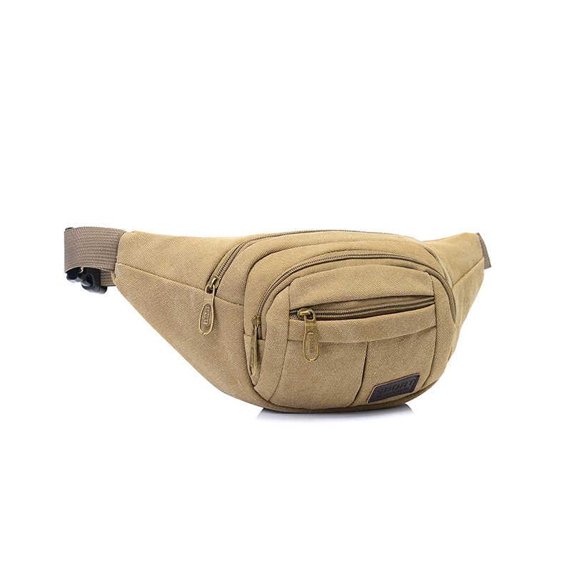 Saco da Cintura da lona Pacote de Cintura Unisex Saco Waistbag Heuptas Bumbag Bloco de Fanny Cinto de Dinheiro Cintura Beltbag Para Execução Sacos De Malote da Correia k091