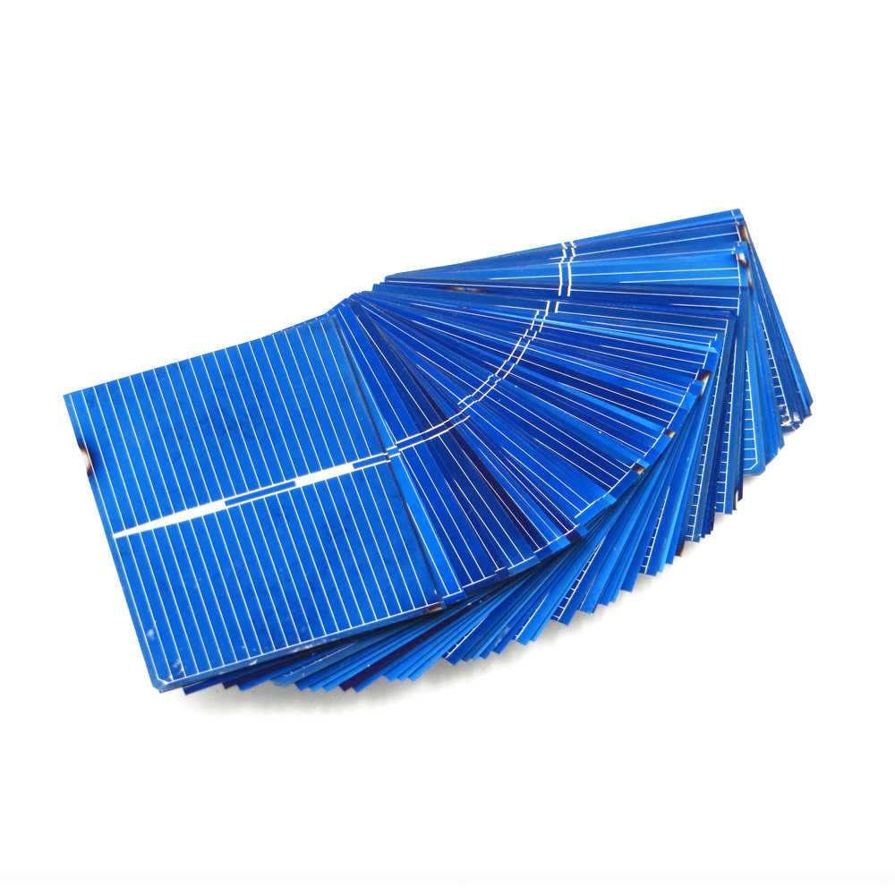 50pcs x Solar Panel Painel Cells DIY Charger Polycrystalline Silicon Sunpower Solar Bord 52*39mm 0.5V 0.33W