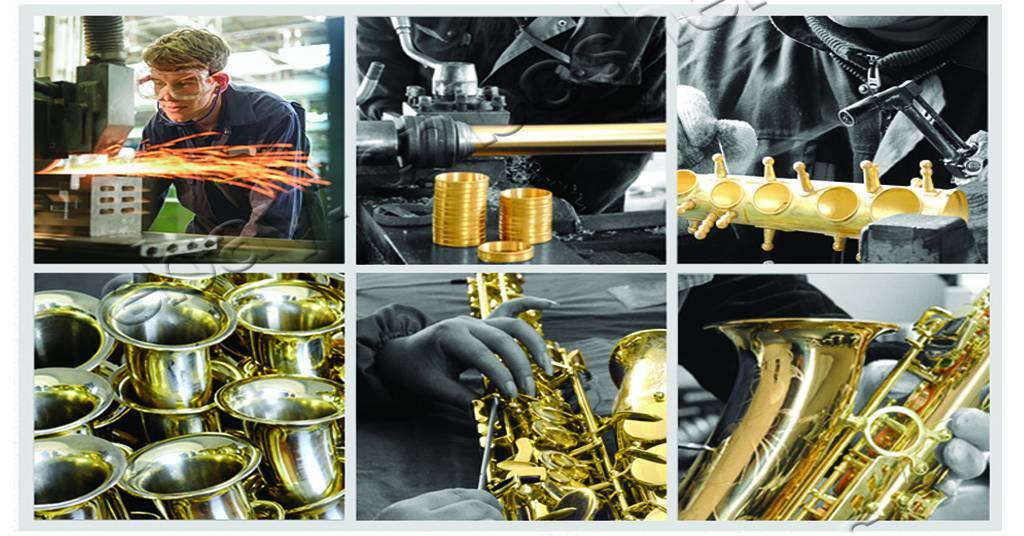 Professional Antique Bronze Baritone saxophone TaiShan Eb