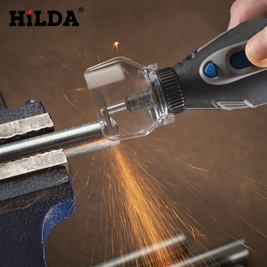 HILDA 1 PCS New Shield Rotary Tool Attachment Accessories A550 For Mini Drill Mini Grinder Cover Case Dremel tools Accessory hilda 115mm detailers grip attachment mini electric grinder handle grips bar for dremel rotary tool