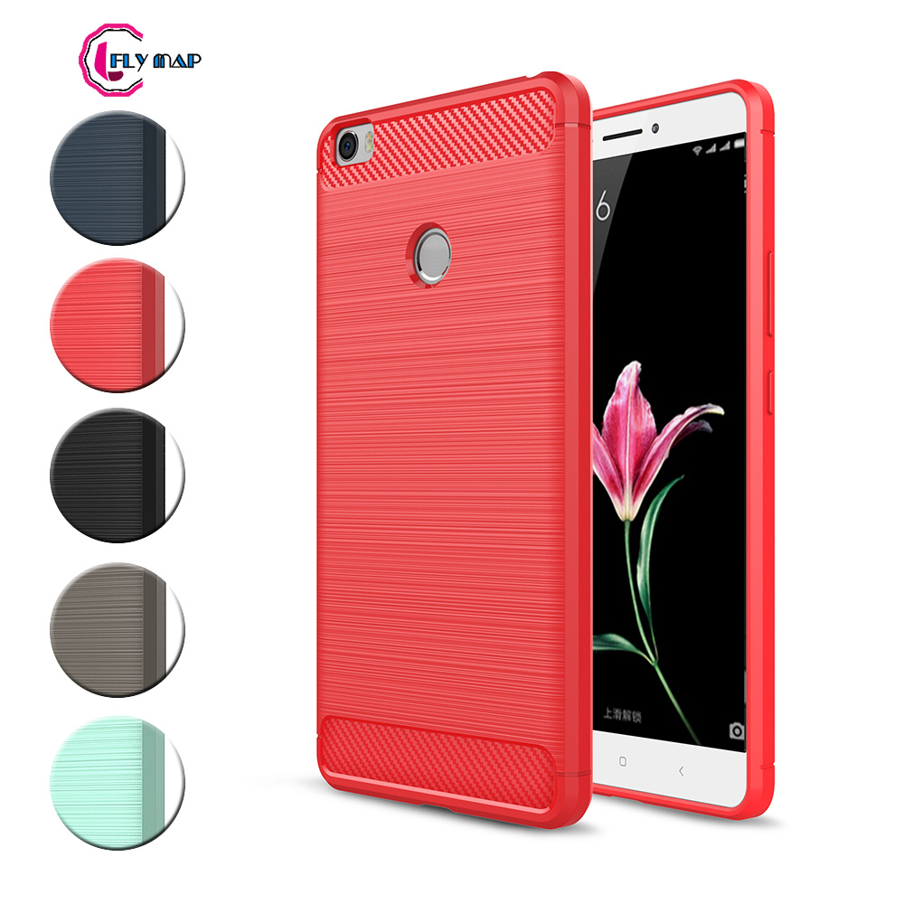 Original Ipaky Cover For Xiaomi Mi Max Case Pc Frame Silicone 2 In 1 Back Gold Tpu Max1 Dual Soft Carbon Fibe Mobile Phone