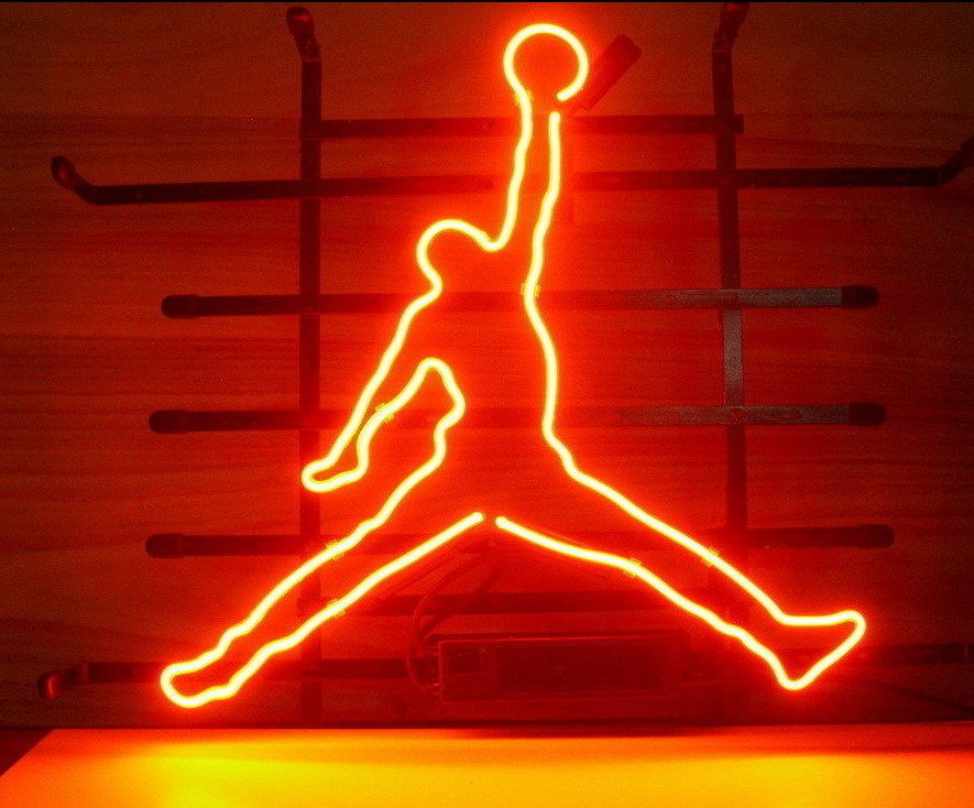 Custom Basketball Glass Neon Light Sign Beer Bar