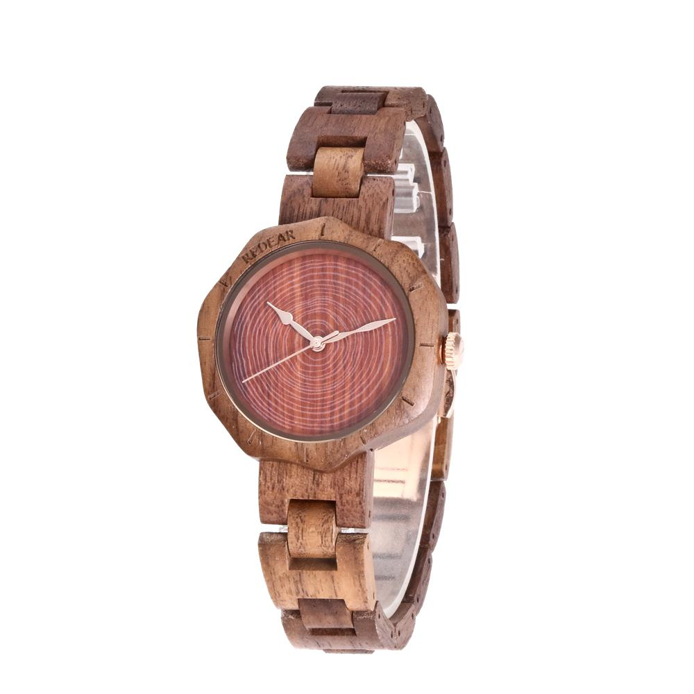 Unique design Wooden Watch Women Irregular Small dial Wood Bracelet Watch Quartz Watches Fashion Casual Ladies Watch Reloj mujer сандалии для мальчика kapika цвет синий 10147 1 размер 19