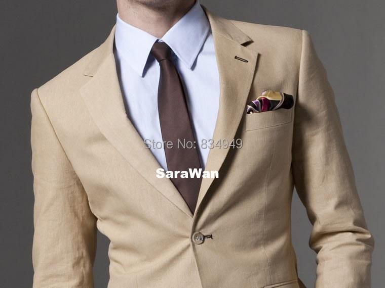 Mariage Plage Costume Homme : Achetez en gros tan costume pour hommes ligne à des grossistes