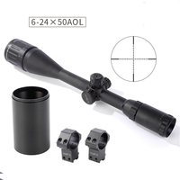 Shooter Tactical ST 6 24x50AOE Rifle Scope For Hunting Shooting With Lens Cap PP1 0356