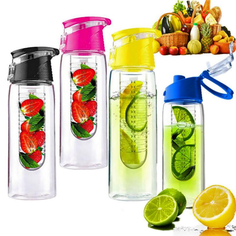 800ml Free Fruit Infuser Juice Shaker Sports Lemon Water Bottle Tour hiking Portable Climbing Camp Bottles|Water Bottles| |  - AliExpress