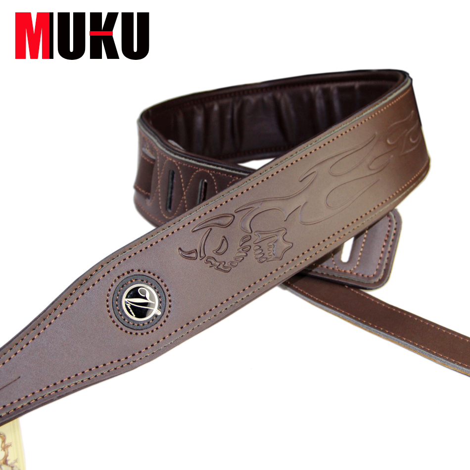 Acoustic & Electric Bass Guitar Straps / Bass Belt Strap / Guitar Accessories strap straps good quality leather guitar strap electric bass straps diverse choices hot selling guitar belt