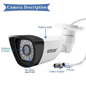Image 4 - Samr AHD caméra HD 720P 1080P caméra de Surveillance CCTV balle extérieure maison caméra vidéo 30 pièces infrarouge led filtre à IR CUT