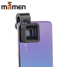 1.33X Anamorph Objektiv Verformung Fimmaking Handy Objektiv Widescreen Film Weitwinkel Kamera Objektiv für iPhone Samsung Handys