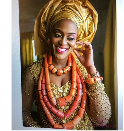 New Luxury 4 Layers Real Nigerian Coral Beads Jewelry Set Big Coral Bead Heavy Bold Statement Bridal Necklace Set ABH822