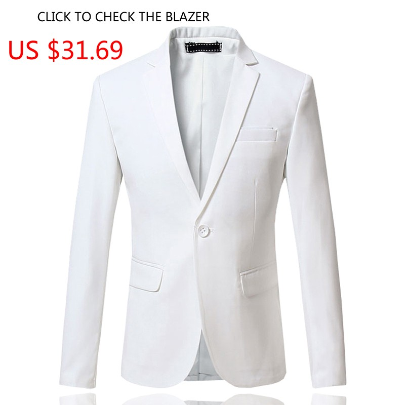 New-Arrival-Spring-White-Formal-Dress-Blazers-Men-Solid-Slim-Fit-V-neck-Mens-Blazer-Jacket