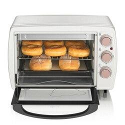 20L 2 warstwy domu piekarnik elektryczny wielofunkcyjny Mini deser ciasto maszyna do pieczenia poziome pojedyncze mechaniczne niezależne ogrzewanie|Piekarniki|   -