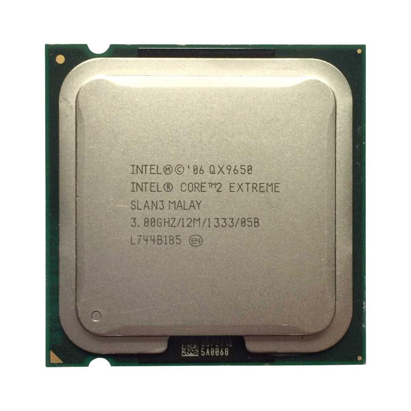 Processeur d'unité centrale Intel Core 2 Quad QX9650 3.0 Ghz/12 M/LGA 775