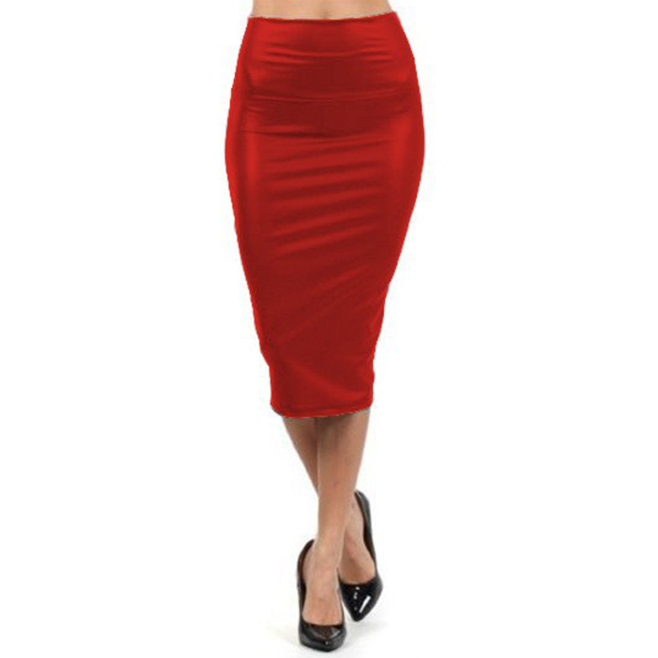 Compare Prices on Red Pencil Skirts- Online Shopping/Buy Low Price ...