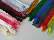 (can choose the colors) 50CM Invisible Zippers 50Pcs DIY #3 Mixed Colors Nylon Coil For Sewing Accessories Wholesale