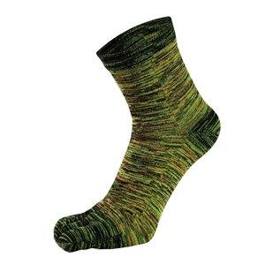 Image 3 - VERIDICAL 5 Pairs Toe Socken Für Mann Baumwolle Bunte Fünf Finger Socken Meia Masculina Lustige Socken Sokken Vintage Mans Socken