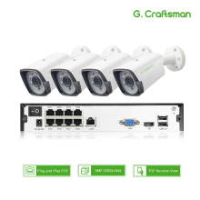 G.craftsman Ip-Camera NVR Surveillance-Alarm H.265-System Security-Up CCTV Video-P2p