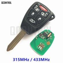 QCONTROL Car Remote Flip Key for JEEP Auto Commander Wrangler Patriot Compass Grand Cherokee Liberty Door Lock Controller