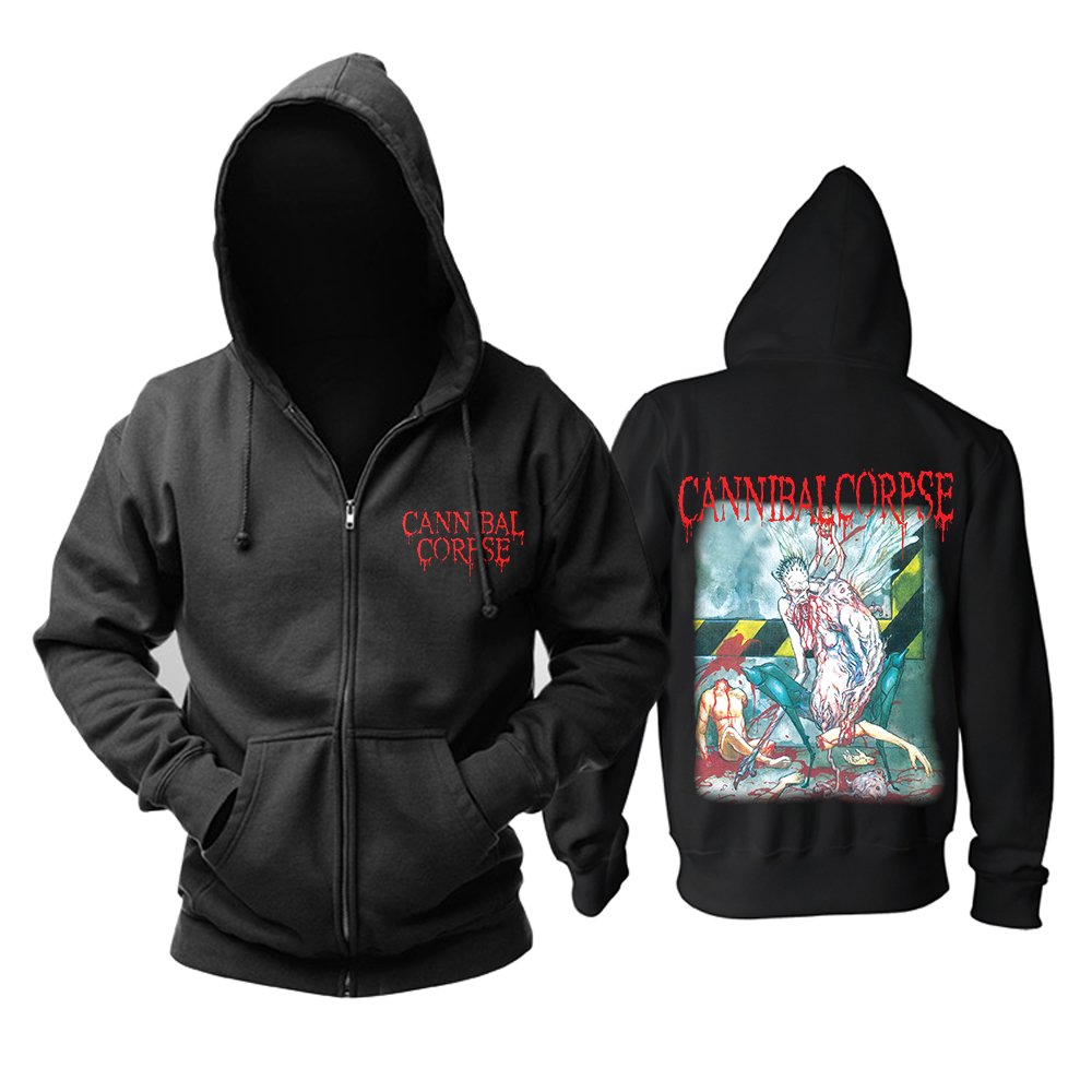 Bloodhoof Free shipping DEICIDE Hell With God Death Metal Mens Hoodies Asian Size