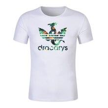 Dracarys white tshirt Game Of Thrones Brand Unisex T-Shirt harajuku Vintage Tshirt Camiseta mujer Tees Men And Women Tops