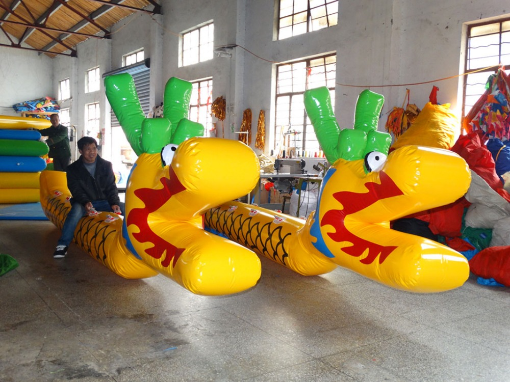 Outdoor Inflatable Games Sports Fun Games Dragon Boats