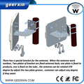 Wholesale-2 * 22dBi FME hembra 4G Booster Amplificador de Señal al aire libre, cable 2*30 cm panel LTE polarización dual Anttenna (blanco 10 unids